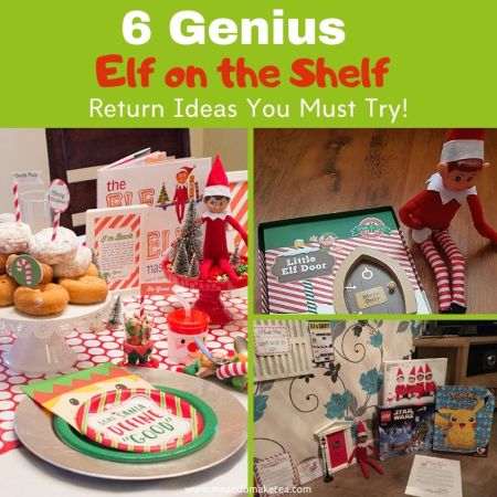 Genius elf on the shelf arrival ideas