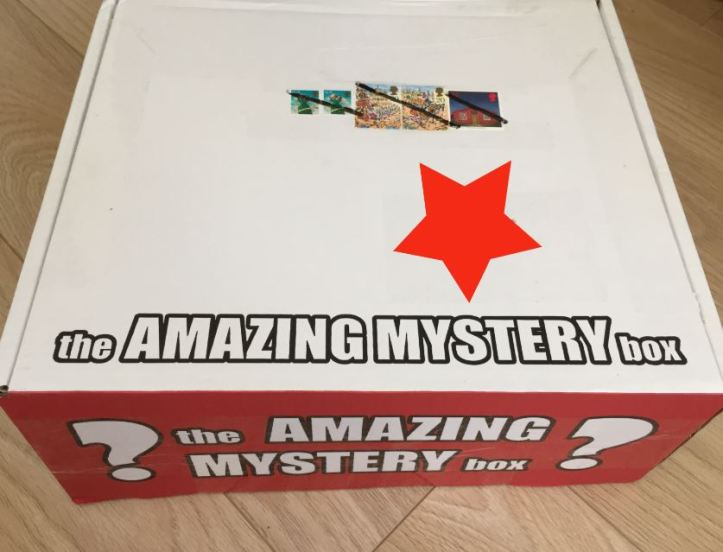 the amazing mystery box star wars review
