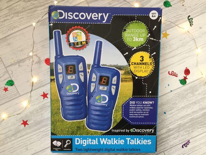 'Discovery' Digital Walkie Talkies Review