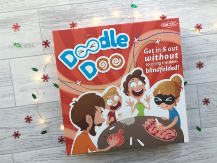 doodle doo board game by tactic games
