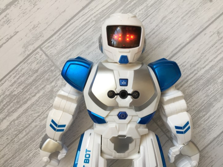 Xtrem smart bot robot toy with led eyes lit up