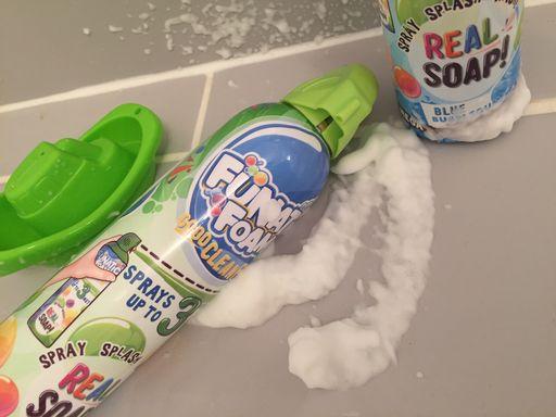 funatic foam bath and shower review