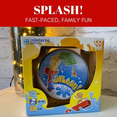 coiledspring games - Splash - Game in Tin - Review