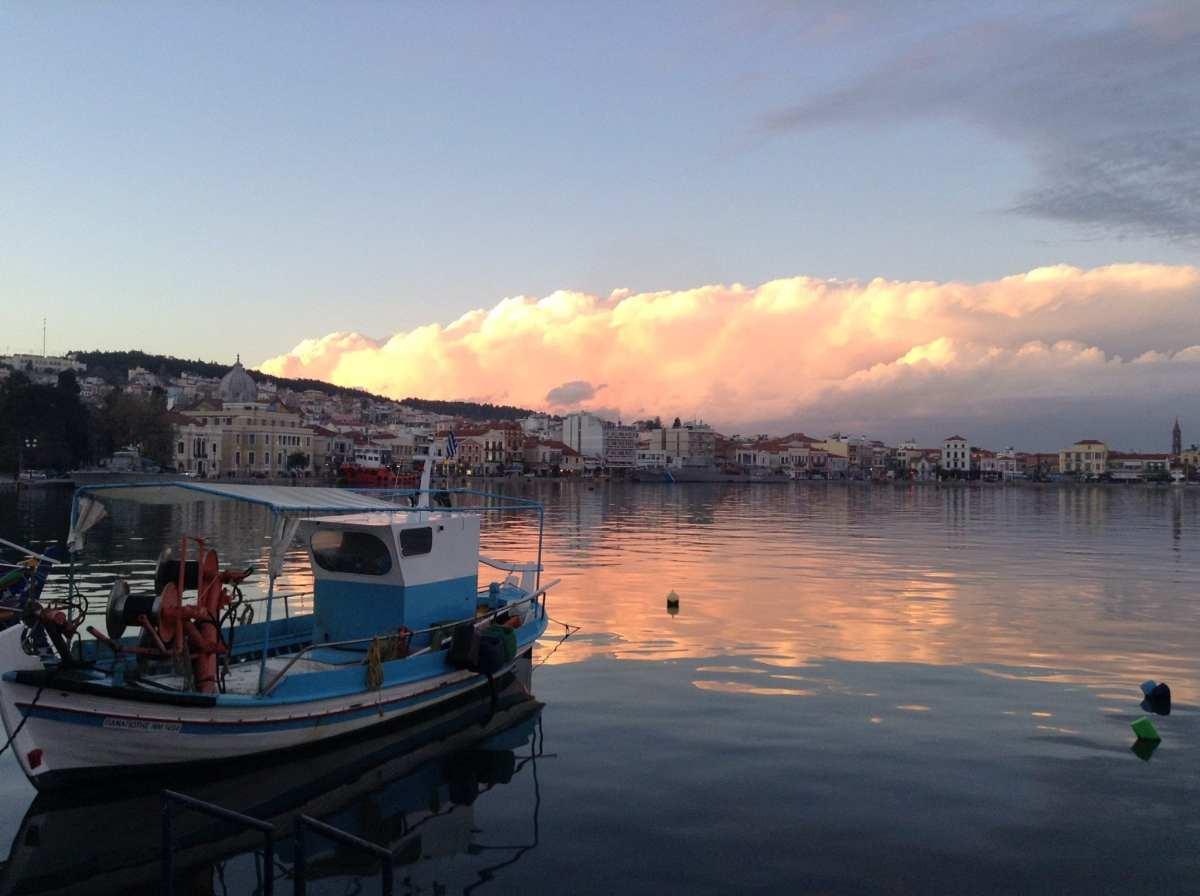Mytilene harbour, Lesvos