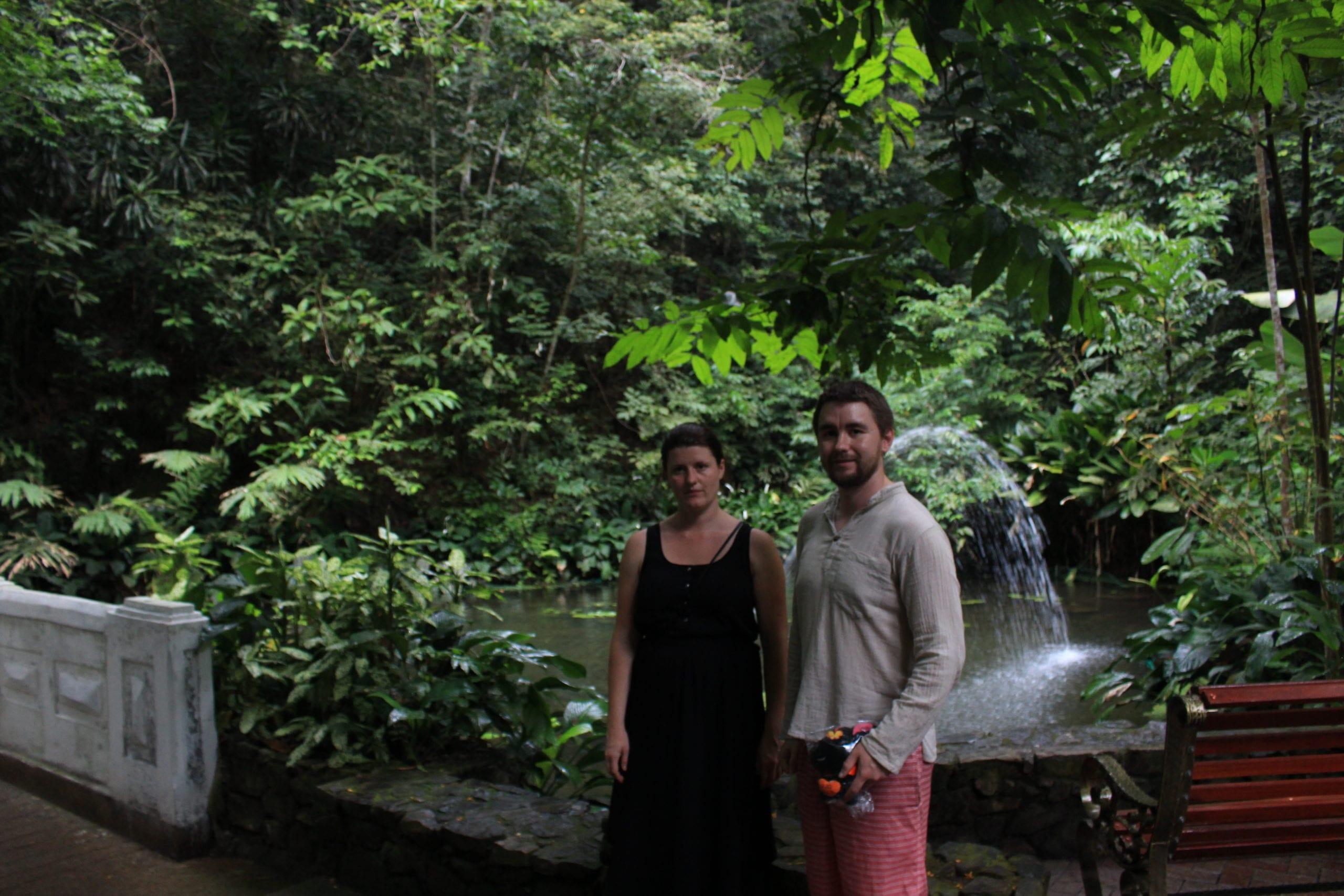 With my Brother at Penang Botanical Gardens
