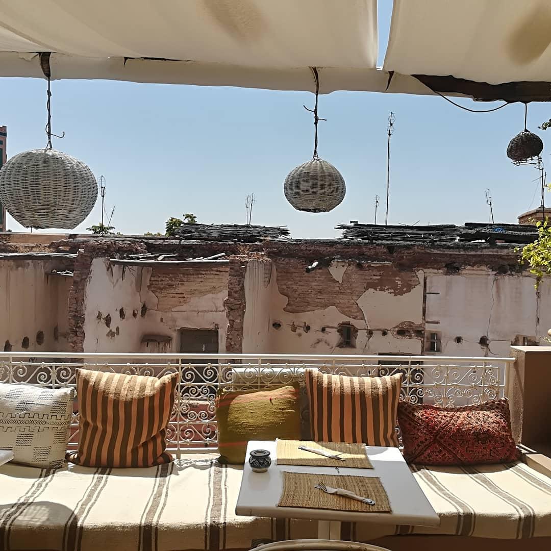 Marrakesh Medina Rooftop Cafe