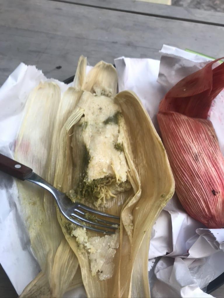Tamales in Oaxaca
