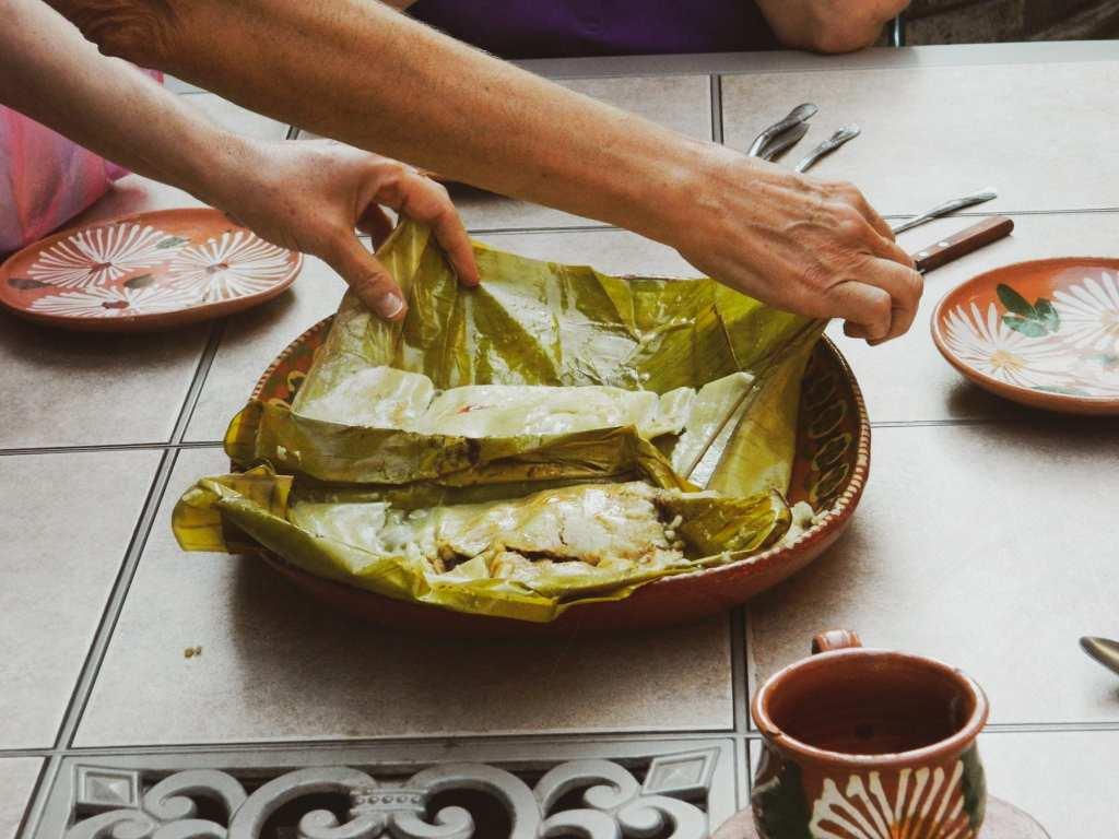 Oaxacan Tamales (Tamal Oaxaqueño) in Oaxaca