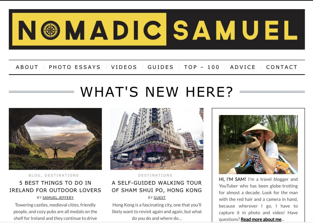 Nomadic Samuel Screenshot