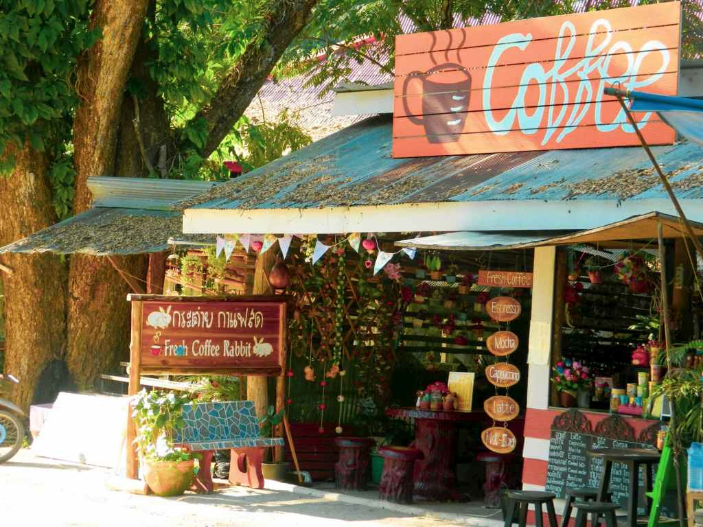 Coffee Shop Outside Chiang Dao Caves