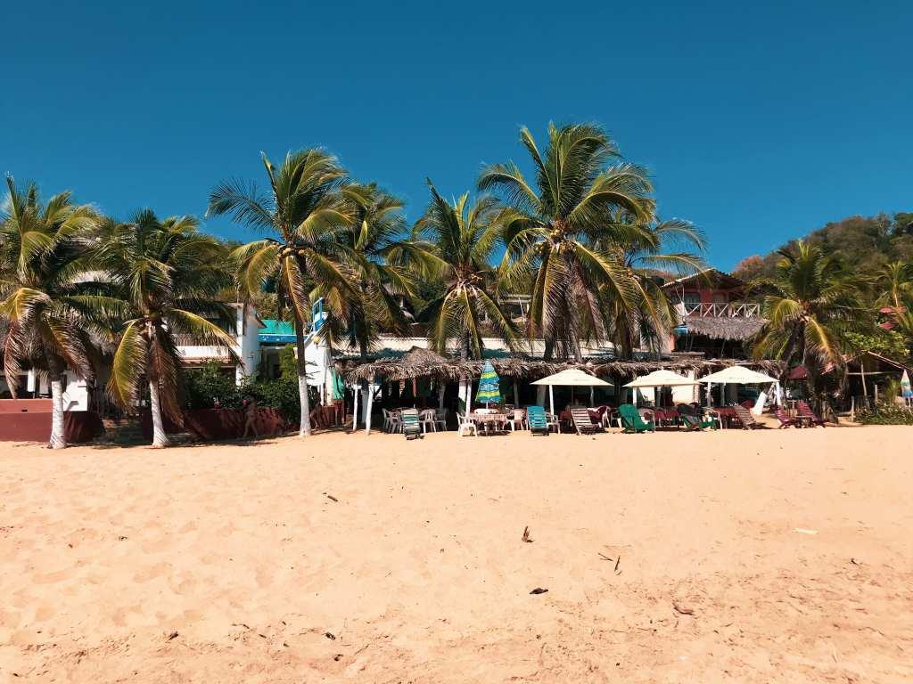 Lazy days under the palms on San Agustinillo beaches