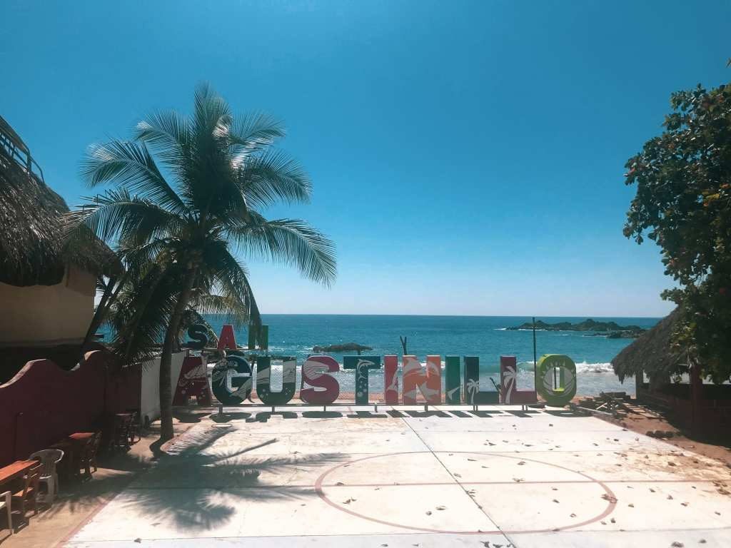 Welcome to Playa San Agustinillo, paradise (and margaritas) await you