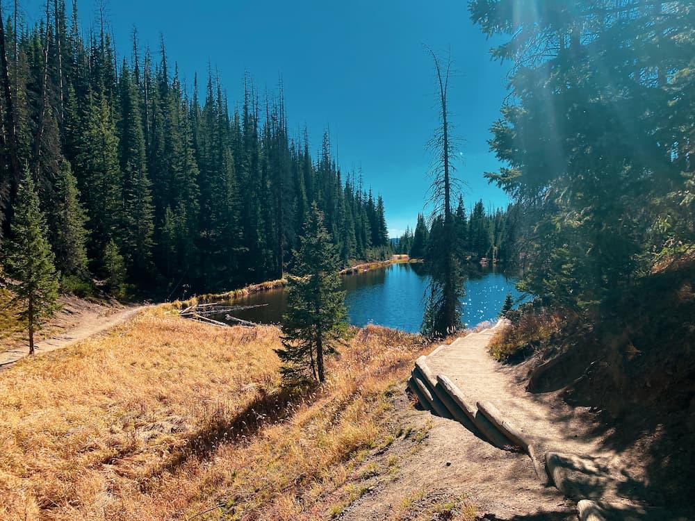 Lake Irene Rocky Mountain National Park
