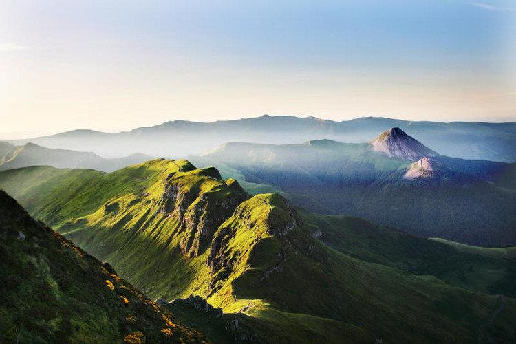 Fietsen op vulkanen