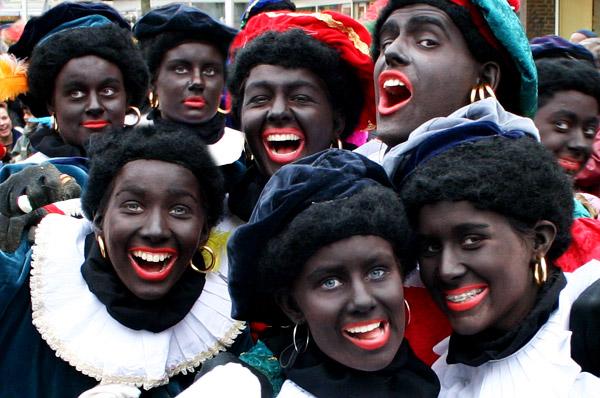 Zwarte Pieten grijpen de macht