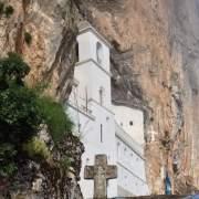 Ostrog Monastery built into mountain - meanderbug