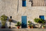Classic architecture in San Vito Lo Capo Italy (Siciliy)
