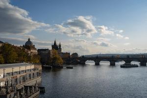 A view of Prague, Czech Republic in 2019