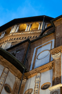 Santa Maria delle Grazie in Milan Italy