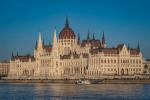 A beautiful view of Budapest Hungary