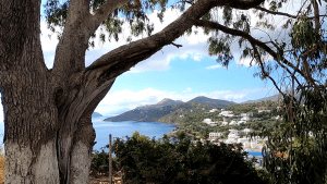 Video – Bike ride to the north side of Leros Greece in late June 2020