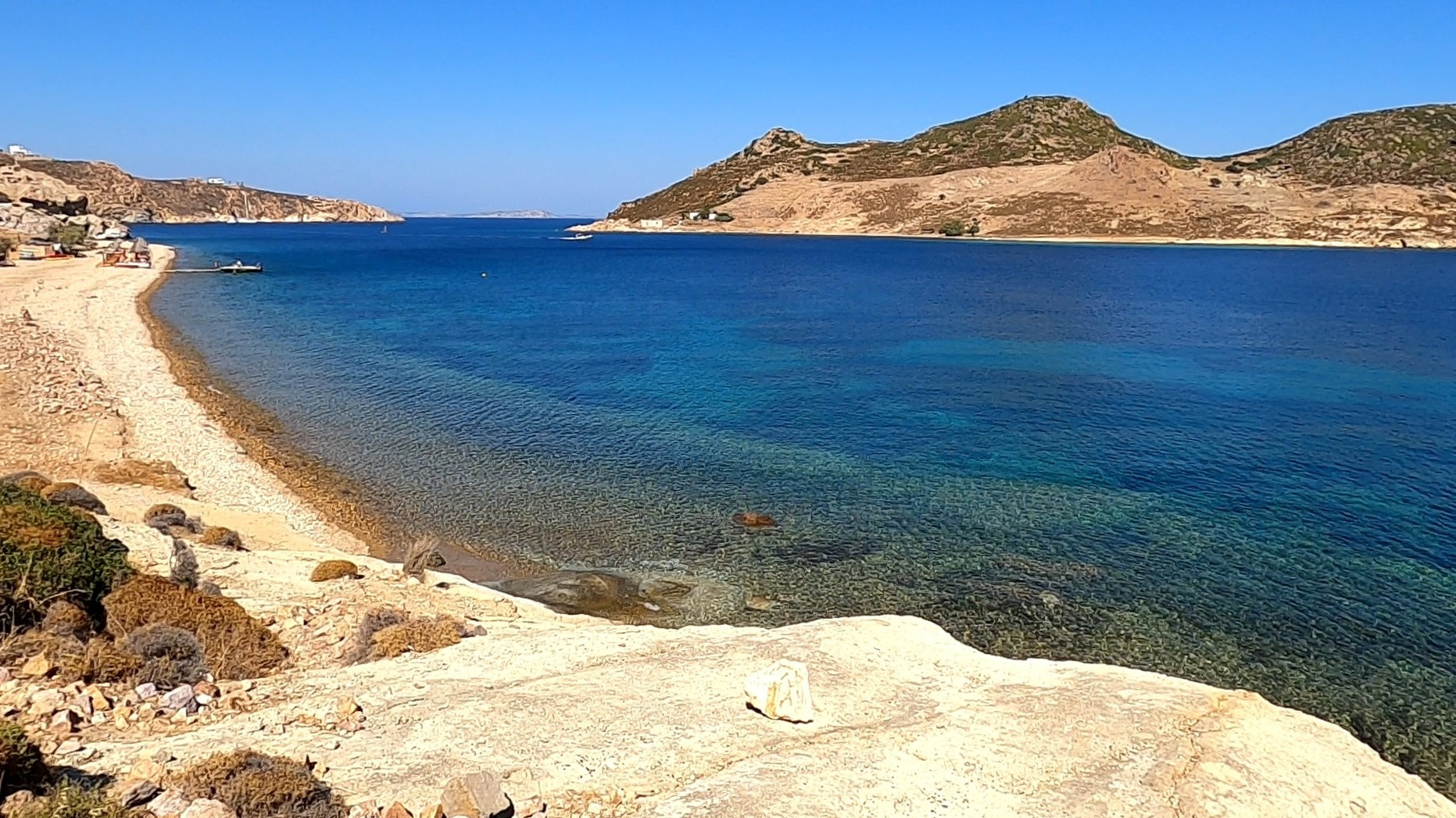 Video – Some of the beaches on the SE of Patmos Greece – July 2020