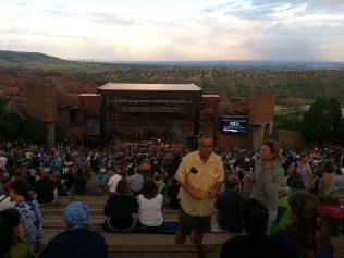 2013-7-30 Grateful Dead Tribute @ Red Rocks 1 stage