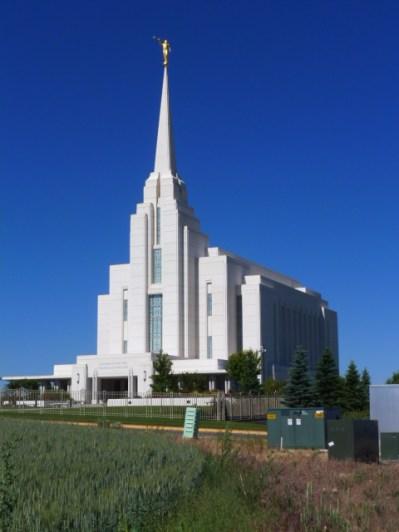 The Rexburg Temple