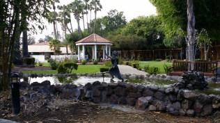 The gazebo at San Jose Garden Hotel