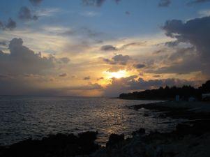 Sunset at Koversada