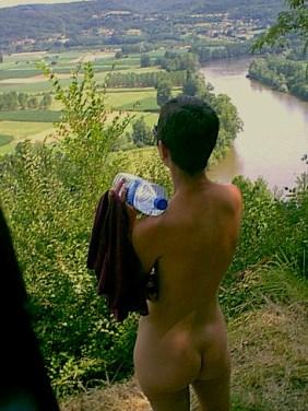 Overlooking the Dordogne Valley
