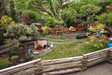 Model Railroad Garden