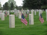 Even WWII German POW's are buried here
