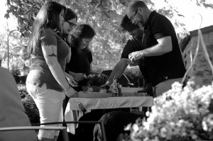 family meal prep, Babs Mullinax, me and grace, me & grace, Fort Wayne photographer, photo gifts, lifestyle photography, family photos, ideas for family photos, indoor photography, fun family photographer, long-distance family