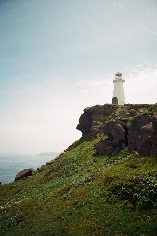 Lighthouse on the eastern most point of North America