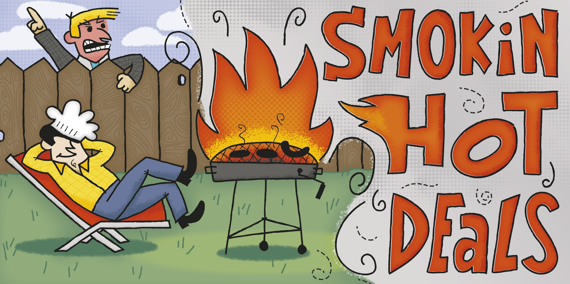 Smokin Hot Deals Cover