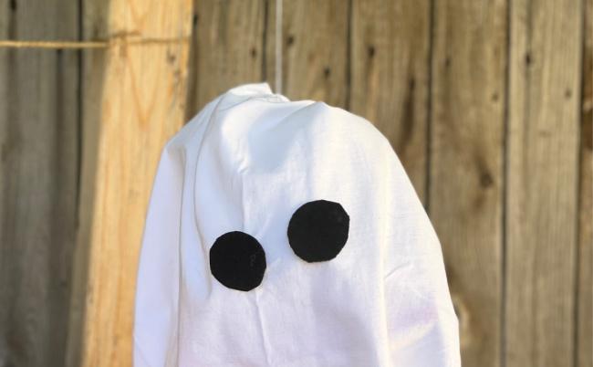 T Shirt Ghost Eyes