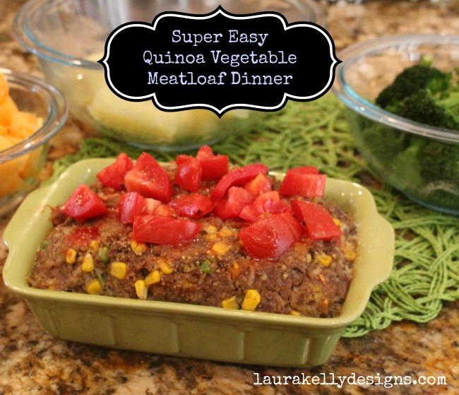 Gluten Free Meatloaf Quinoa Vegetable