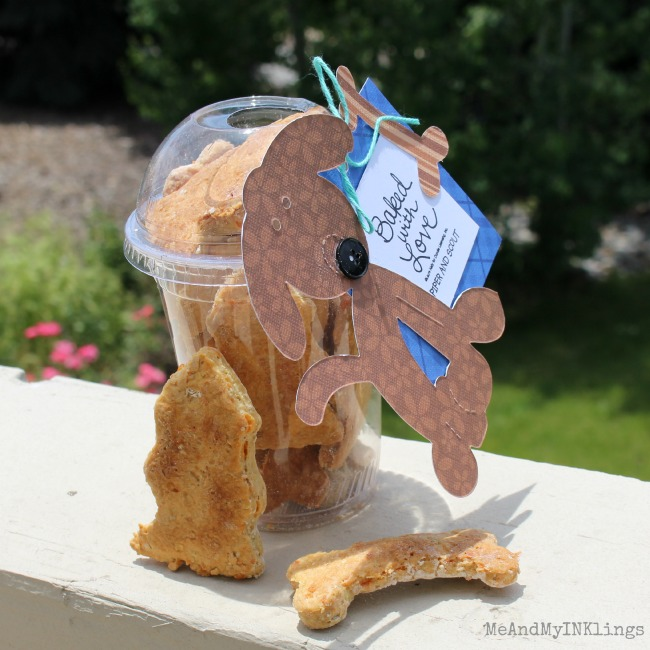 Homemade Dog Biscuit Gifts