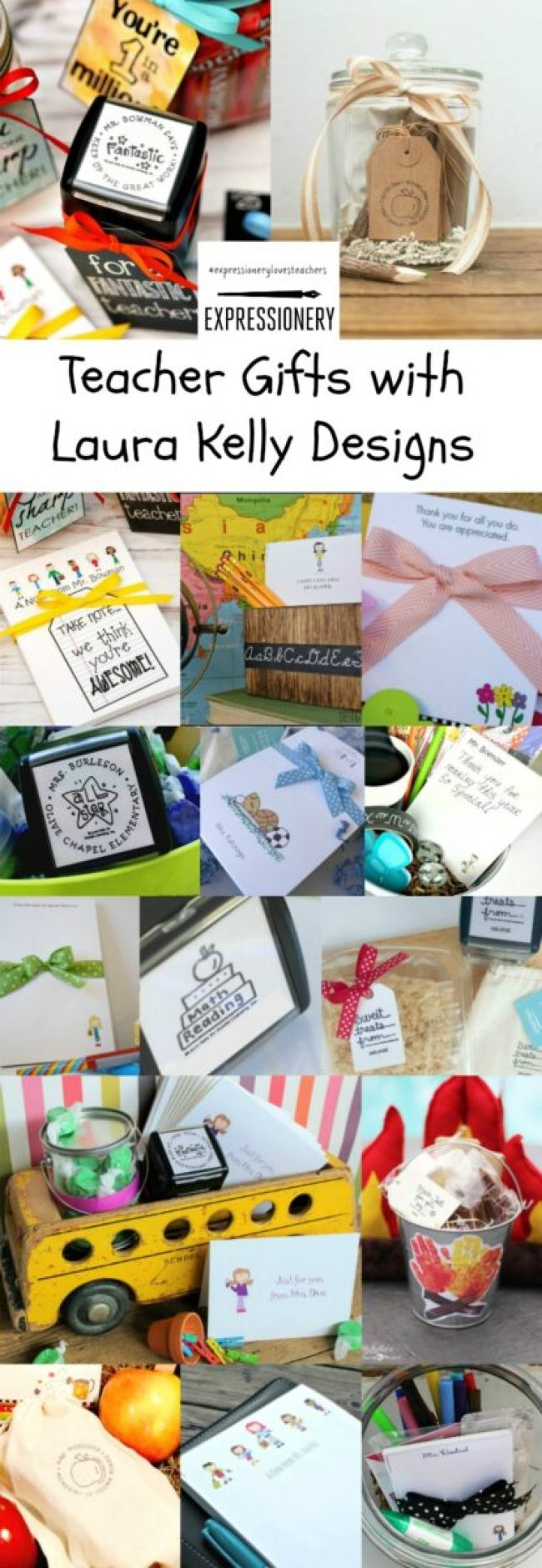Expressionery Loves Teachers Blogger Collage