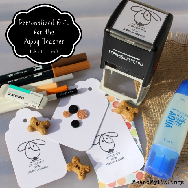 Puppy Trainer Gift Expressionery Custom Stamp