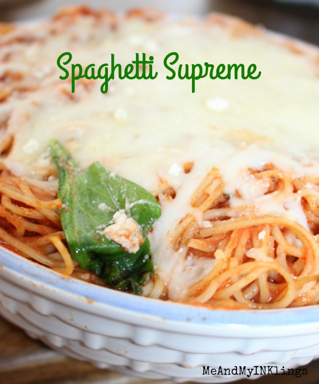 Spaghetti Supreme Pasta