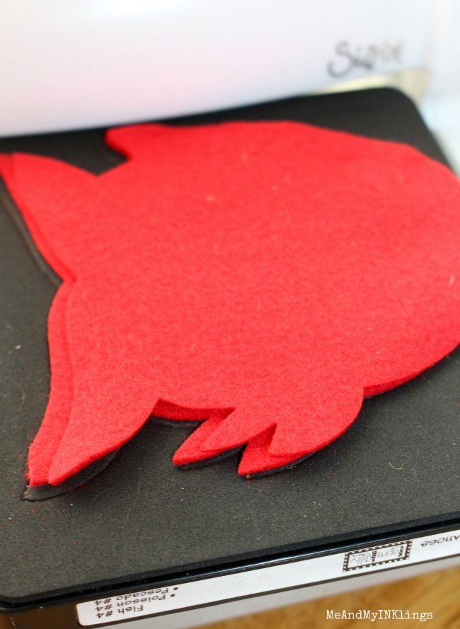 Fish Die Cut Laura Kelly for Sizzix