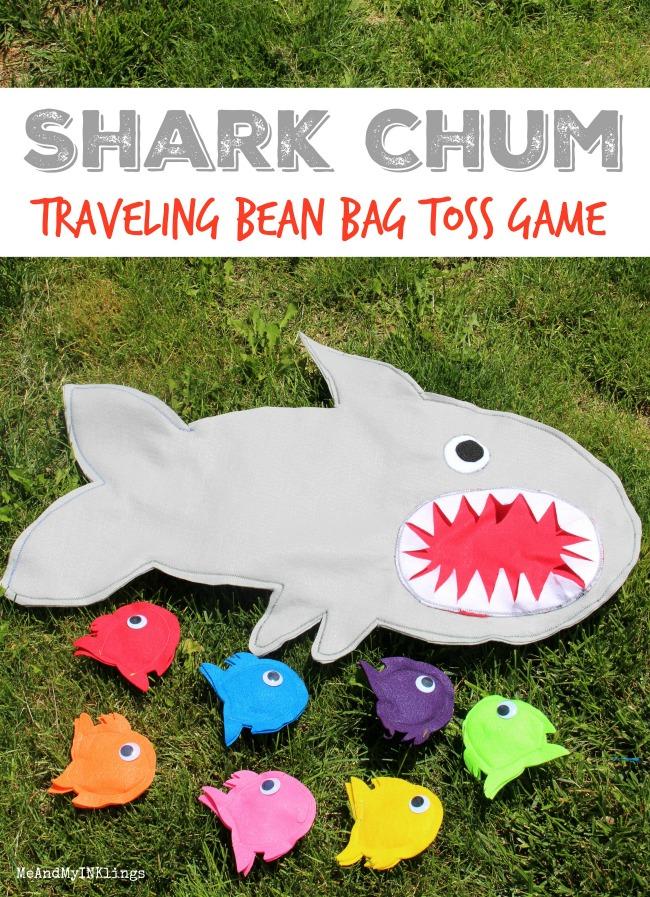 Shark Game Beanbag Toss