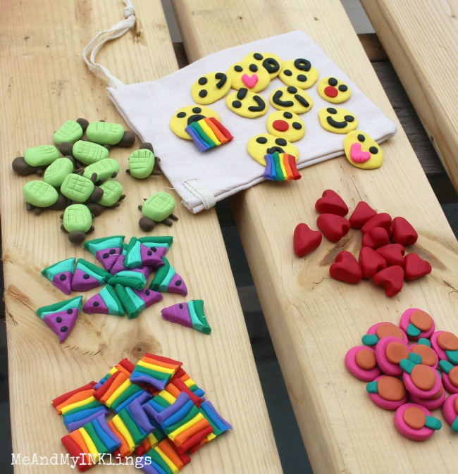 Clay Game Pieces