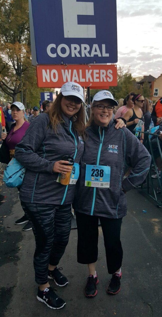 Hot Chocolate Run with Sarah