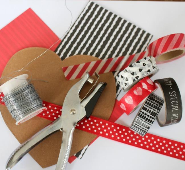 Ellison Heart Valentine Supplies