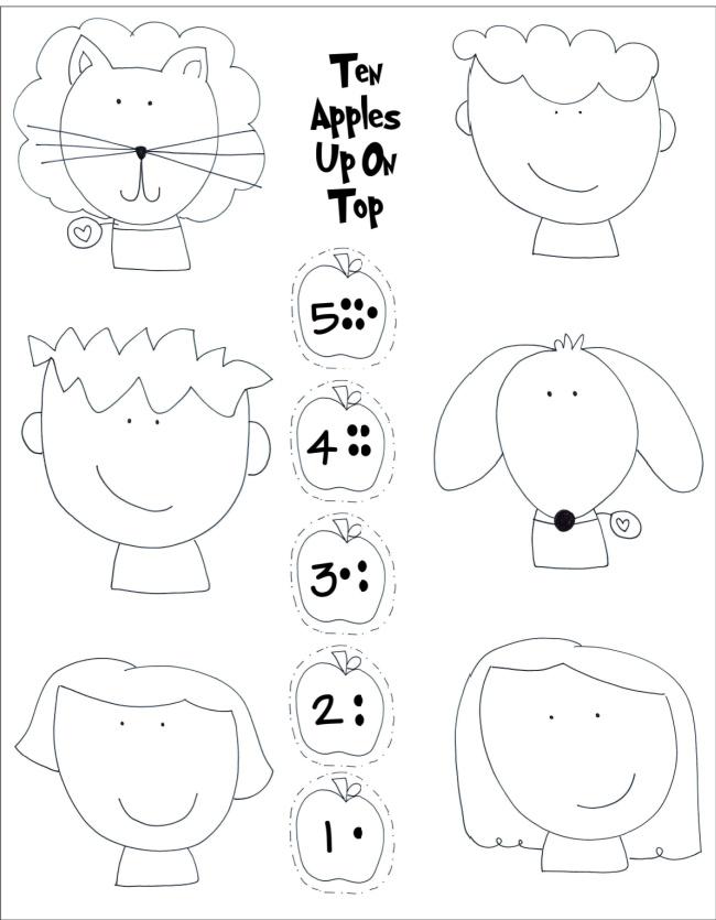Dr. Seuss Ten Apples Up on Top Kids