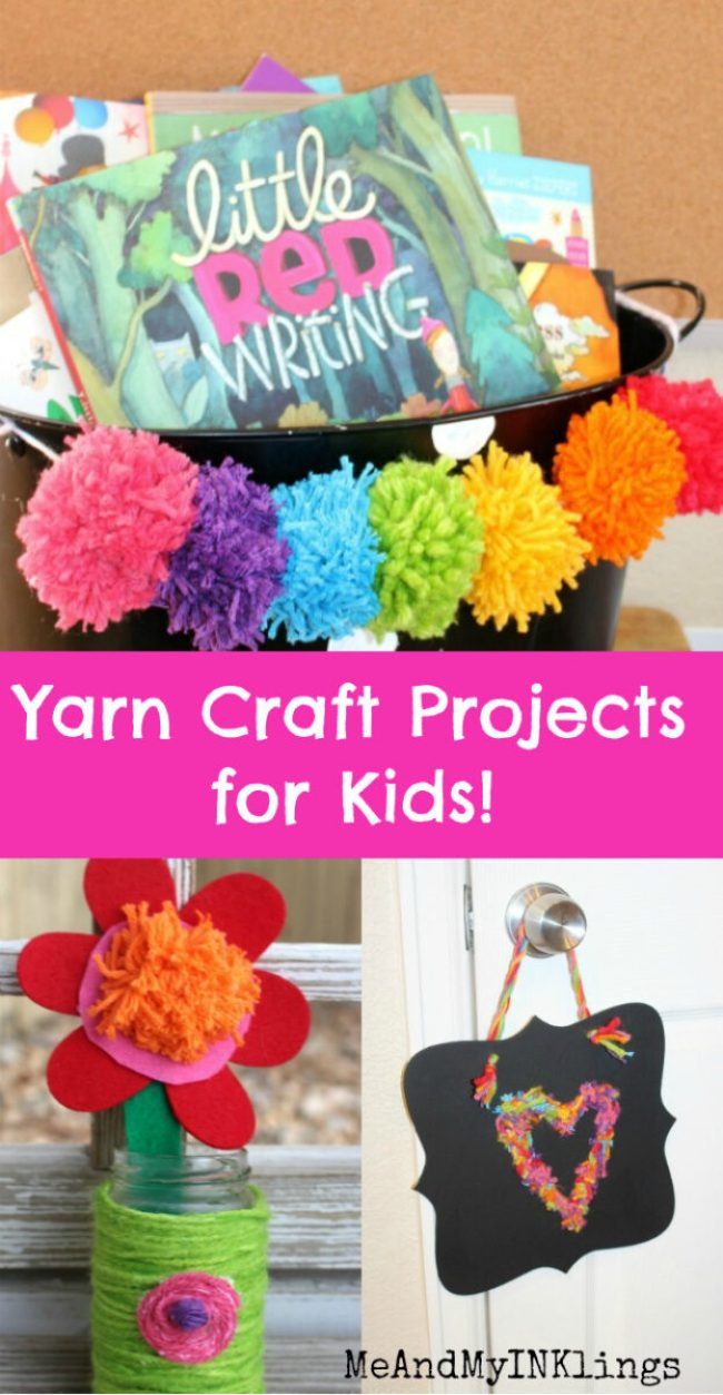 Yarn Craft Projects for Kids