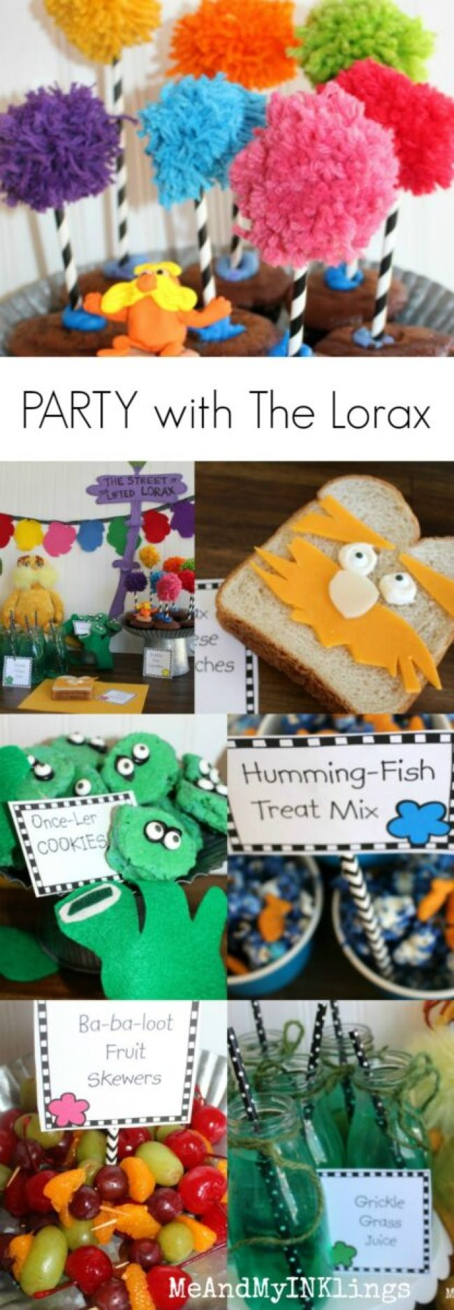 Lorax Party Dr Seuss Crafts and Recipes